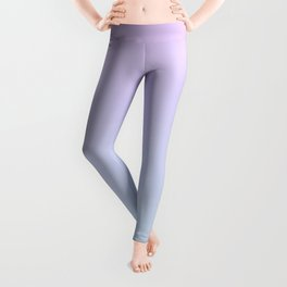 Pastel Ultra Violet Mint Gradient Leggings