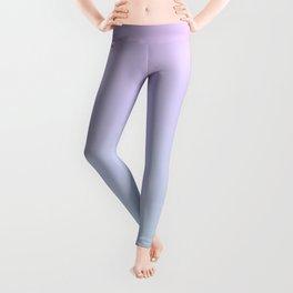Pastel Ultra Violet Mint Gradient Leggings