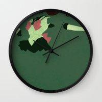 sailor jupiter Wall Clocks featuring Sailor Jupiter by JHTY