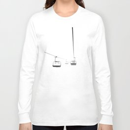 Lifts from and to nowhere Long Sleeve T-shirt