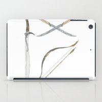 middle earth iPad Cases featuring Middle Earth Weapons pack by Kazuma Shimizu