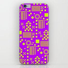 Wonderland Magenta iPhone Skin
