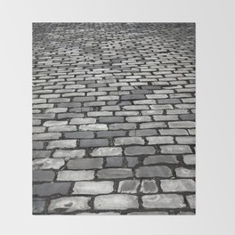 Cobbled Throw Blanket