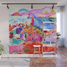 Henri Matisse Les toits de Collioure Wall Mural