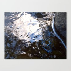 Textures - Water Canvas Print