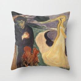 Edvard Munch - Separation Throw Pillow