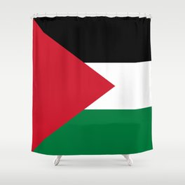 Flag of Palestine Shower Curtain