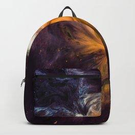 Abstract Nebula Wave Backpack