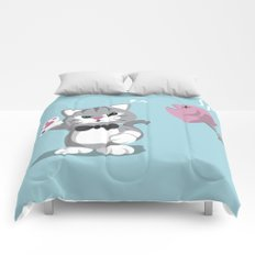 No Feeding! Comforters