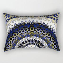 Royal Baroque Mandala Rectangular Pillow