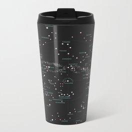 Norra Stjärnhimlen Metal Travel Mug