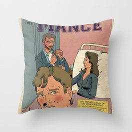 Bromance time! Throw Pillow