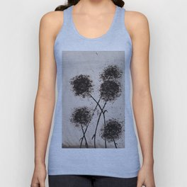 The Dark Flowers Of Discord Go To Seed Unisex Tank Top