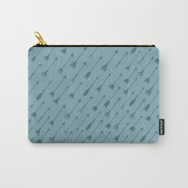 blue arrows Carry-All Pouch
