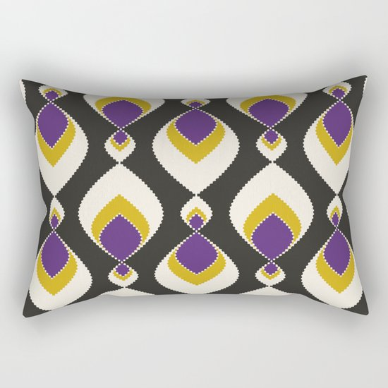 "Abstract pattern "" Carnival "". Rectangular Pillow"