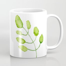 Watercolor Green leave Coffee Mug