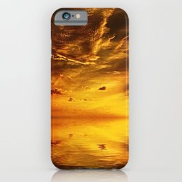 Big sky off the Florida Keys color photography / photographs iPhone Case