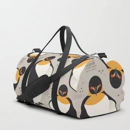 Emperor Penguin, Antarctica Wildlife Duffle Bag
