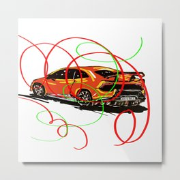 Very Fast and Very stylish !! Metal Print