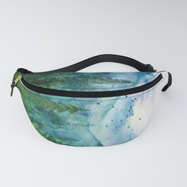 Spring Mountainscape Fanny Pack