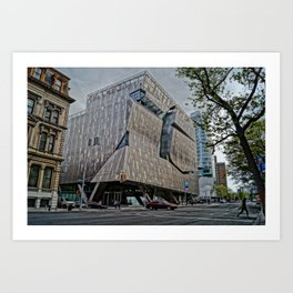 Copper Union Building New York City Art Print
