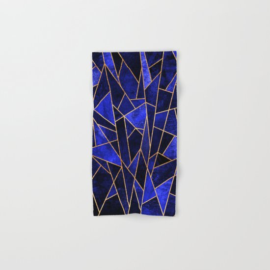 Shattered Sapphire Hand & Bath Towel