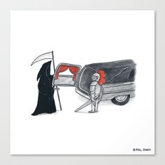 Chivalry is Dead? Canvas Print