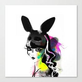 Bunny gone Canvas Print