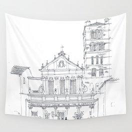 Basilica di Santa Cecilia in Trastevere Wall Tapestry