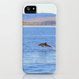 Porpoise in Pursuit iPhone Case