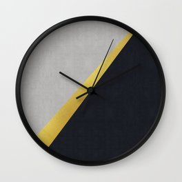 Fashion and golden art I Wall Clock