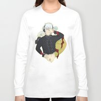 dmmd Long Sleeve T-shirts featuring Dive into DMMd Clear by Collette Ren