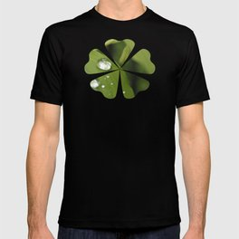 Green Leaves After Rain T-shirt