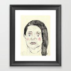 Marina Abramović Framed Art Print