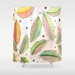 All Leaves Shower Curtain