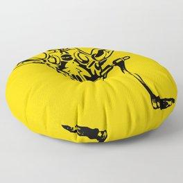 Coffee Giraffe Floor Pillow