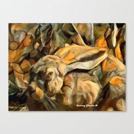 Splitting Hares Canvas Print