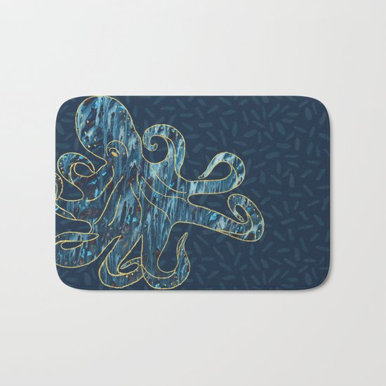 The Octopus Bath Mat