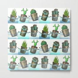 Lots of Floating Plants Metal Print
