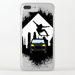 Sk8 Clear iPhone Case