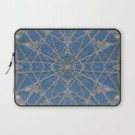 Snowflake Blue Laptop Sleeve