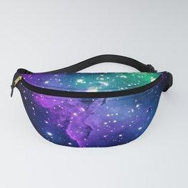 Eagle Nebula Purple Green Teal Fanny Pack