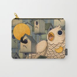 Birdhouses Carry-All Pouch