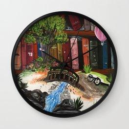 Book Experience Wall Clock