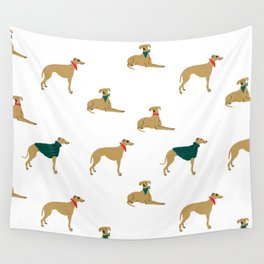 Greyhound love Wall Tapestry