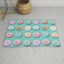 Donuts for tea Rug