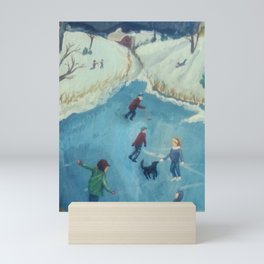 Winter Fun Mini Art Print