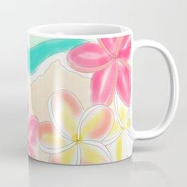 Plumeria ocean view Coffee Mug