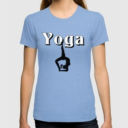 Yoga logo design T-shirt