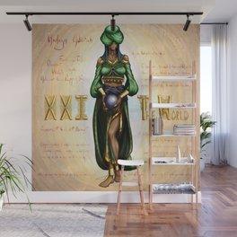 Asoleyn Adiirah; XXI The World Wall Mural